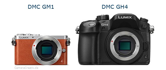 Panasonic dmc gm 1 vs Panasonic dmc gh 4