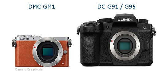 Panasonic dmc gm 1 vs Panasonic lumix g91