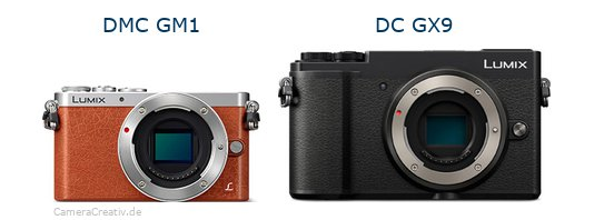 Panasonic dmc gm 1 vs Panasonic lumix gx 9