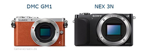 Panasonic dmc gm 1 vs Sony nex 3n