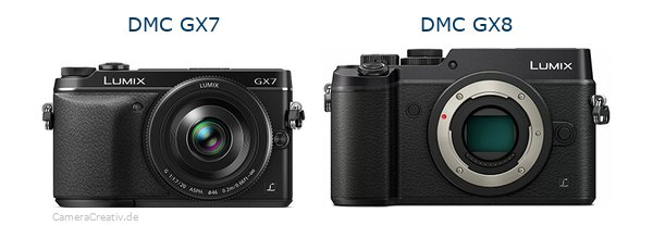 Panasonic dmc gx7 vs Panasonic dmc gx 8
