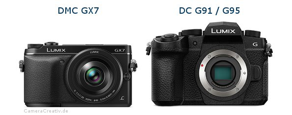 Panasonic dmc gx7 vs Panasonic lumix g91