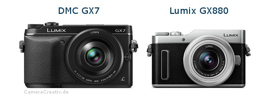 Panasonic dmc gx7 vs Panasonic lumix gx 880