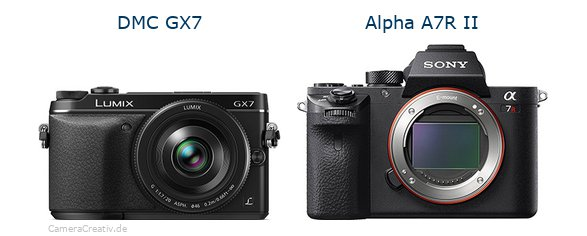 Panasonic dmc gx7 vs Sony alpha a7r ii