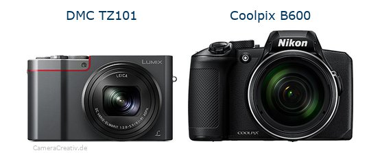 Panasonic dmc tz 101 vs Nikon coolpix b600