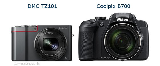 Panasonic dmc tz 101 vs Nikon coolpix b700