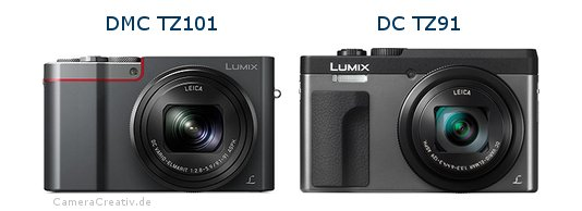 Panasonic dmc tz 101 vs Panasonic dc tz 91