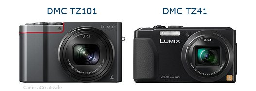 Panasonic dmc tz 101 vs Panasonic dmc tz 41