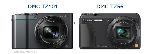Panasonic dmc tz 101 vs Panasonic dmc tz 56
