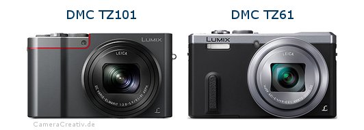 Panasonic dmc tz 101 vs Panasonic dmc tz 61