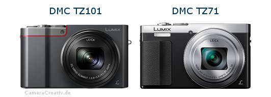 Panasonic dmc tz 101 vs Panasonic dmc tz 71