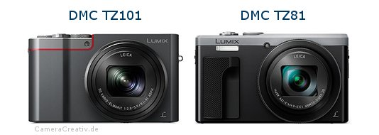 Panasonic dmc tz 101 vs Panasonic dmc tz 81