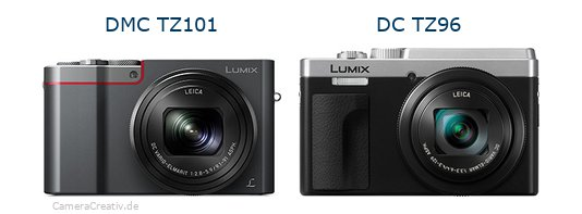 Panasonic dmc tz 101 vs Panasonic lumix tz 96