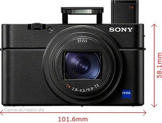 Sony Cyber-shot RX100 VI Dimensions (Width / Height)