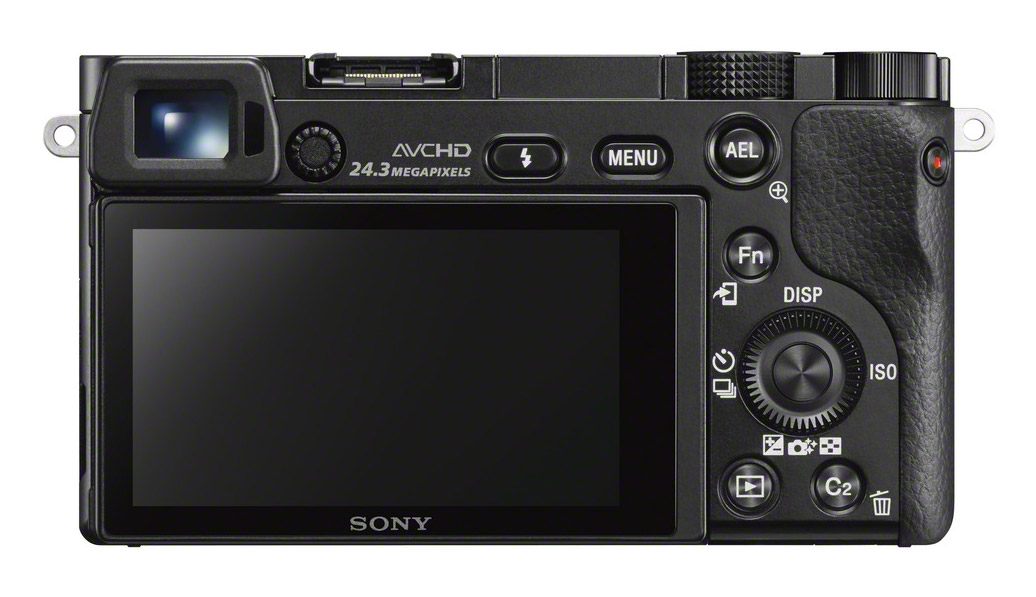 Alpha A6000 display