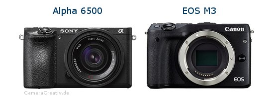 Sony alpha 6500 oder Canon eos m3