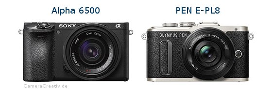 Sony alpha 6500 vs Olympus pen e pl8