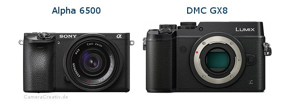 Sony alpha 6500 vs Panasonic dmc gx 8