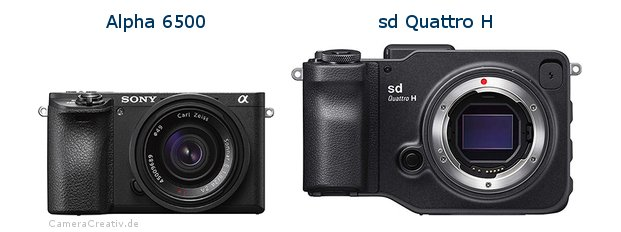 Sony alpha 6500 vs Sigma sd quattro h