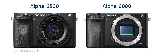 Sony alpha 6500 vs Sony alpha 6000