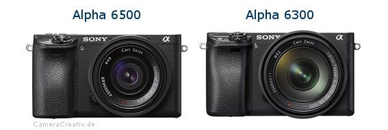 Sony alpha 6500 vs Sony alpha 6300