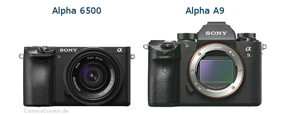 Sony alpha 6500 vs Sony alpha a9