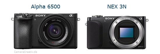 Sony alpha 6500 vs Sony nex 3n