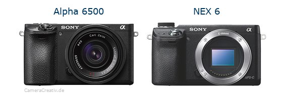 Sony alpha 6500 vs Sony nex 6