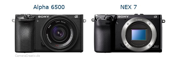 Sony alpha 6500 vs Sony nex 7