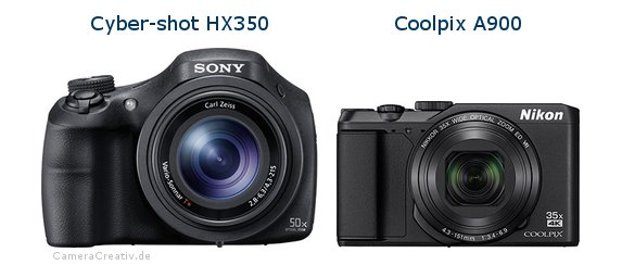 Sony cyber shot hx350 vs Nikon coolpix a900