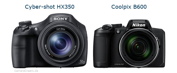 Sony cyber shot hx350 vs Nikon coolpix b600
