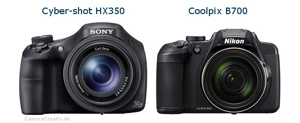 Sony cyber shot hx350 vs Nikon coolpix b700