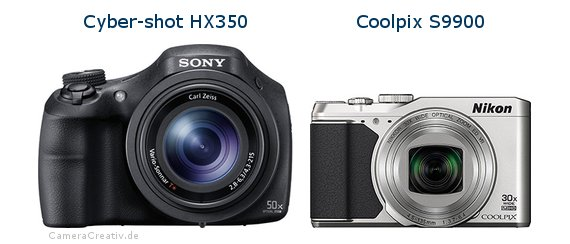 Sony cyber shot hx350 vs Nikon coolpix s9900