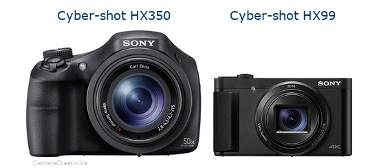 Sony cyber shot hx350 vs Sony cyber shot hx 99