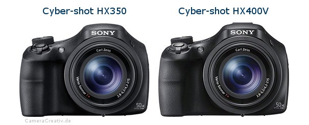 Sony cyber shot hx350 vs Sony cyber shot hx400v