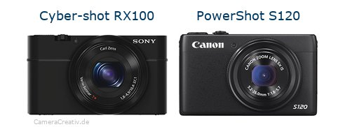 Sony cyber shot rx100 oder Canon powershot s120