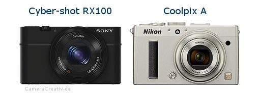 Sony cyber shot rx100 vs Nikon coolpix a
