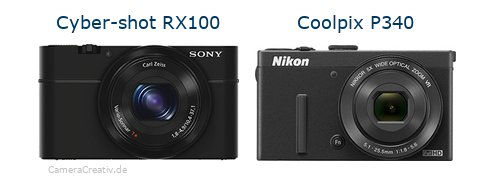 Sony cyber shot rx100 vs Nikon coolpix p340