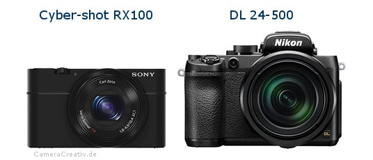 Sony cyber shot rx100 vs Nikon dl 24 500