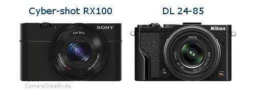 Sony cyber shot rx100 vs Nikon dl 24 85