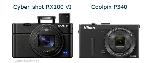 Sony cyber shot rx100 vi vs Nikon coolpix p340
