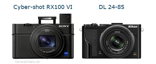 Sony cyber shot rx100 vi vs Nikon dl 24 85