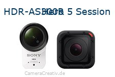 Sony hdr as300r vs Gopro hero 5 session