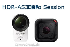 Sony hdr as300r vs Gopro hero session