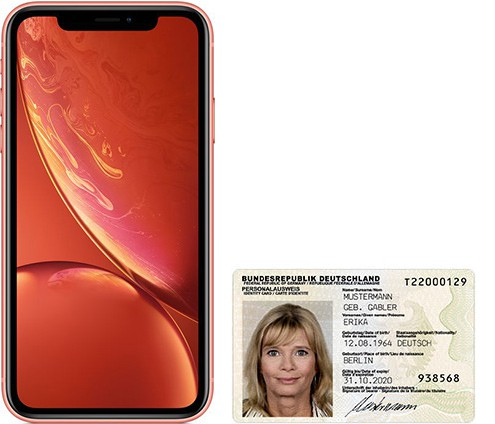 iPhone XR size comparison