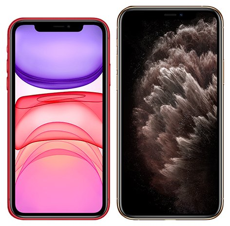 Smartphonevergleich: Iphone 11 oder Iphone 11 pro max