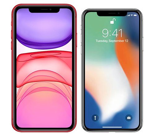Smartphonevergleich: Iphone 11 oder Iphone x
