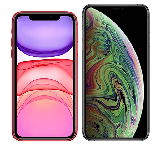 Smartphonevergleich: Iphone 11 oder Iphone xs max