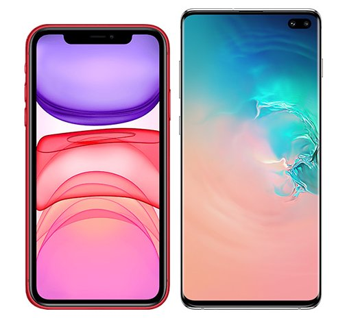 Smartphonevergleich: Iphone 11 oder Samsung galaxy s10 plus