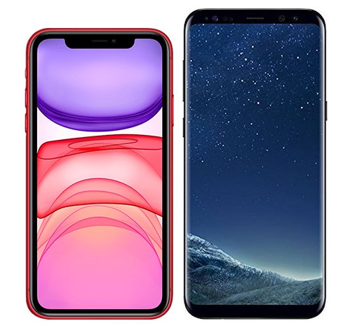 Smartphonevergleich: Iphone 11 oder Samsung galaxy s8 plus